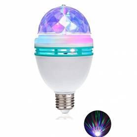 Ampoule Magique Auto Tournant LED - Jeux de Lumière