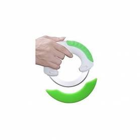 Couteau Magique Révolutionnaire Circulaire 360° - Blanc/Vert