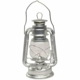 Véritable Lampe à Pétrole Militaire en Zinc 25 cm