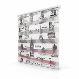 Store Zebra Motif PARIS - 1m*1.5m