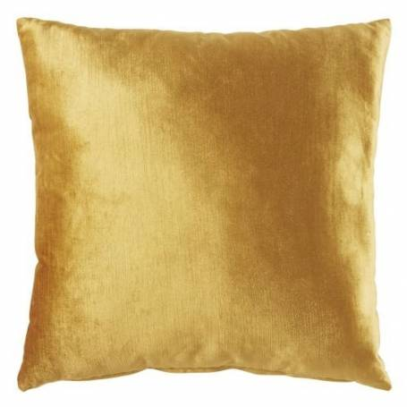 Coussin Inspire -  Moutarde - Velours 40*40cm -