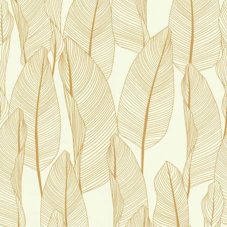 Papier peint BANANIER JAUNE - Ref 51184702