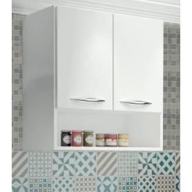 Rangement haut de cuisine - HT2 -  Bois MDF - Blanc