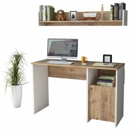 Bureau avec rangement très simple