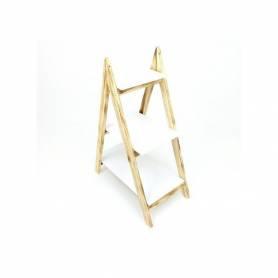 Etagère en bois - escalier pour plantes - 3 Étages