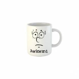 Mug Céramique73- AWKWARD- Blanc