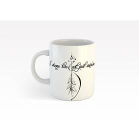 Mug Céramique64 - I wanna live - Blanc