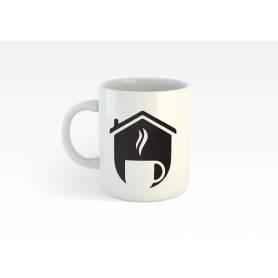 Mug Céramique55 - Coffee 2 - Blanc