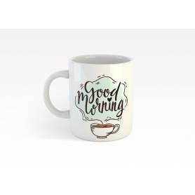 mug52  - good morning - coffe