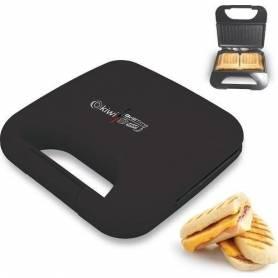 Appareil panini - Mini grill - Noir- 750w - Garantie 1 an