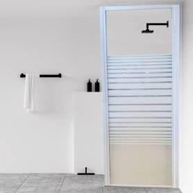 Malibu Paroi de douche fixe Italien - Sérigraphie