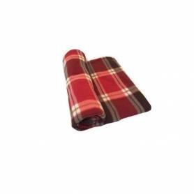 Plaid - Style écossais - Carreaux - Rouge & Marron