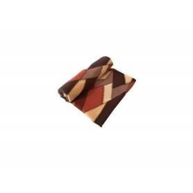Plaid - Style écossais  - Marron & Beige