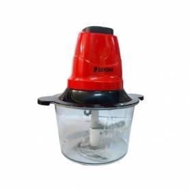 Hachoir A Viande Chopper - Broyeurs électrique - Rouge et noir