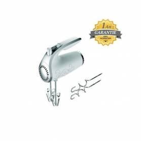 Topmatic Batteur électrique à main - HM-300.2 - 250W | Blanc & Gris