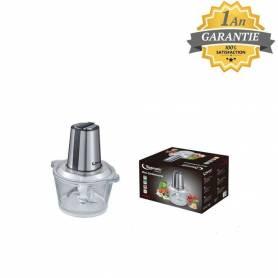 Topmatic Mini Hachoir - 300W - Verre 1.6L Double Lame - Produit Germany - Garantie 1 an
