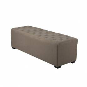Grand Pouf - Rectangulaire - 120*45 - Marron