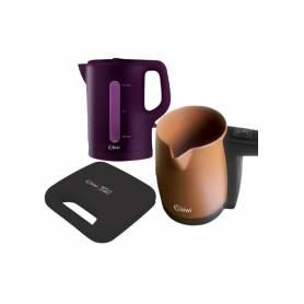 Pack Bouillard & Appareil panini & Machine a café