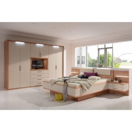 Chambre à coucher Sandra - MDF Stratifié