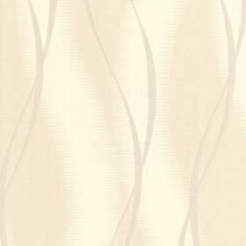 Papier peint Vinyle - Beige & Doré