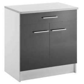 Meuble bas cuisine 2 portes + 1 tiroir