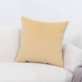 Coussin 45*45 cm - jaune clair