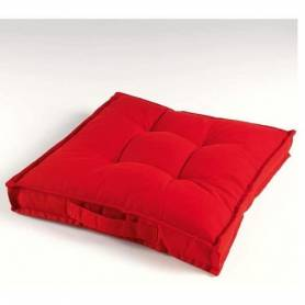 Coussin De Sol 45*45 -  Rouge