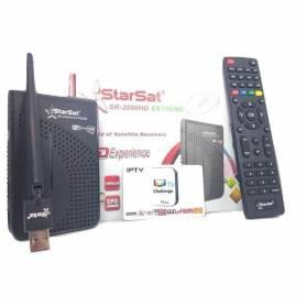 STARSAT 2090 EXTREME| avec clé Wi-Fi|Abonnements 1an FUNCAM/CHALLENGE