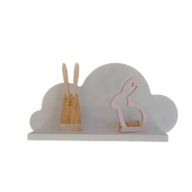 Étagère murale nuage | Blanc
