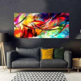 Tableau décoratif abstrait - 170 x 75 cm