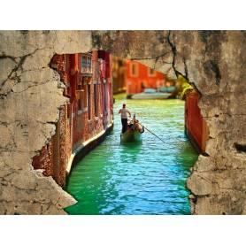 Tableau décoratif mur Venise - 100x80cm