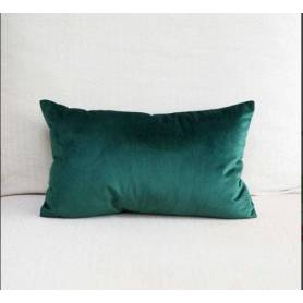 Coussin rectangulaire - Velours  Turquoise - 70*40cm