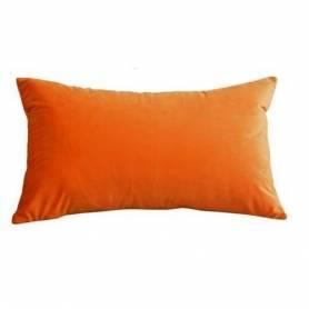 Coussin rectangulaire décoratif - Velours Orange- 70*40cm