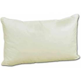 Coussin rectangulaire décoratif - Velours grège - 70*40cm