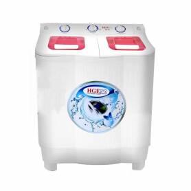 Machine à laver HGE 8.5 KG Semi automatique