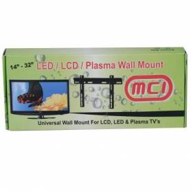 """Support Mural Fixe pour TV LED 14"""" 32"""""""