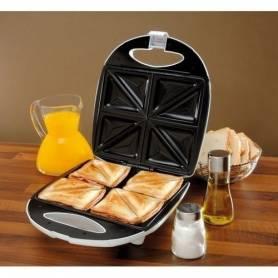 Sandwich Maker - 1400W - 4 Slices - Montana - Garantie 1 An