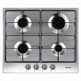 Plaque de cuisson encastrable à Gaz - 4 Brûleurs - 60 cm - F401X - Garantie 2 ans