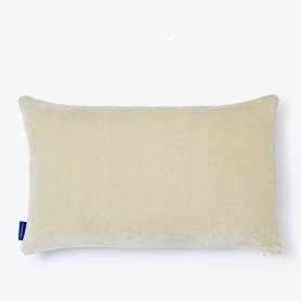 Coussin rectangulaire décoratif - Velours 70*40 - Beige