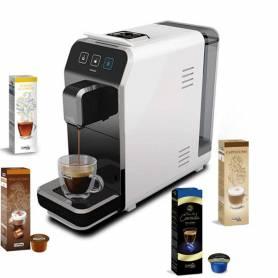 Machine à Café CAFFITALY Luna S32 + 40 capsules GRATUIT - Blanc