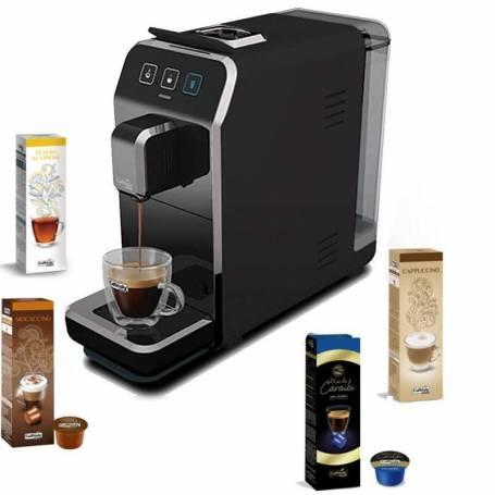 Machine à Café CAFFITALY Luna S32 + 40 capsules gratuit - Noir