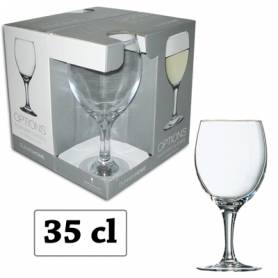 Pasabahce service 8 verres a pied Dunnes