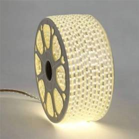 10 mètres ruban LED - Blanc chaud AVEC FICHE
