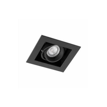 Spot light carre orientable NOIR