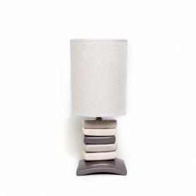 Lampe De Chevet - Galet carré