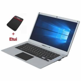 PC Portable- VEGABOOK Plus - 4Go -64Go- Silver + Etui - Garantie 1an