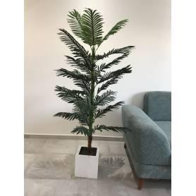 Plante artificielle-verte