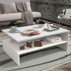 Table Basse-Blanc