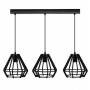 Suspension 3 Lampes – Noir