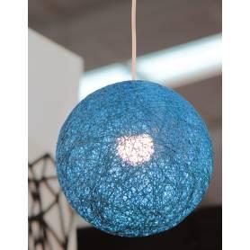 Lustre-Boule-Bleu